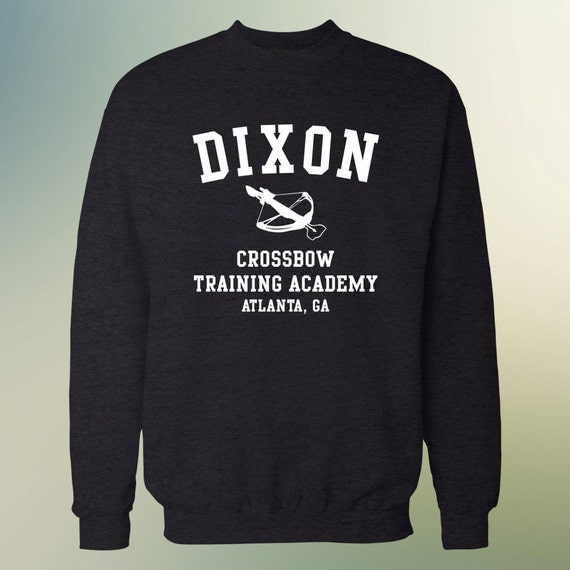 "The Walking Dead ""Dixon Crossbow Training Academy"" Sweater S-3XL Available TWD"