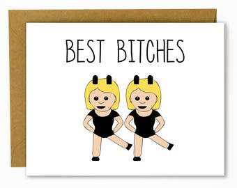 Funny birthday card for friend funny best friend birthday funny birthday card for friend funny best friend birthday card best btches m4hsunfo