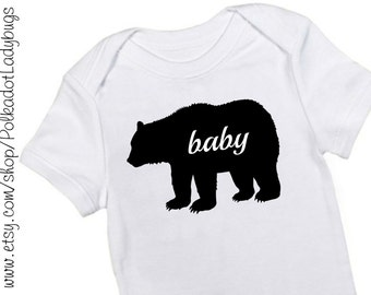Baby Bear Infant Creeper or T-Shirt