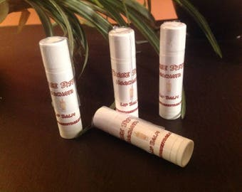 Hand made flavored Lip Balms