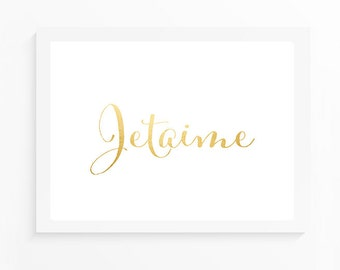 10x8 INSTANT DOWNLOAD Art Print - Jetaime