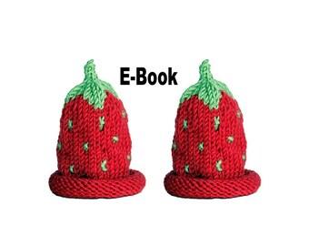 Strickanleitung E-Book Eierwärmer Erdbeere