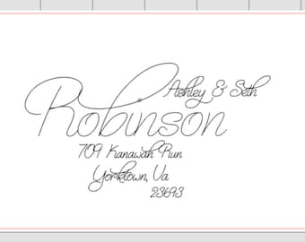 Invitation Addressing for Wedding or special event
