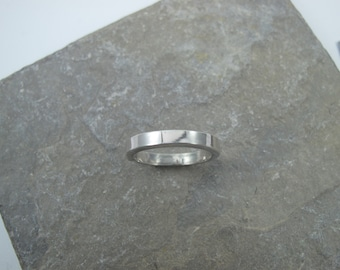 Sterling Silver Square wire ring