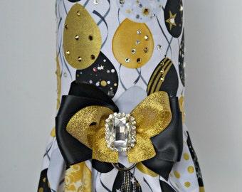 Dog Harness Vest - Glam Balloon - Birthday, New Years, Celebration