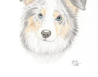 Custom Pet Drawing - Proceeds Benefit Animal Shelters