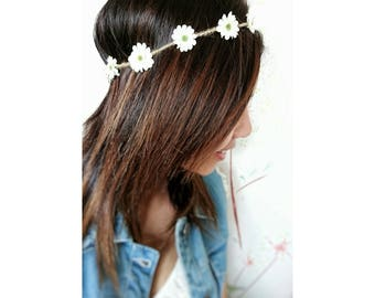 Bohemian - flower Crown accessories