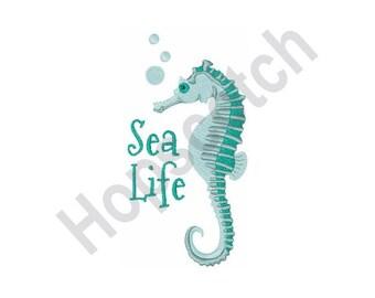 Sea Horse - Machine Embroidery Design