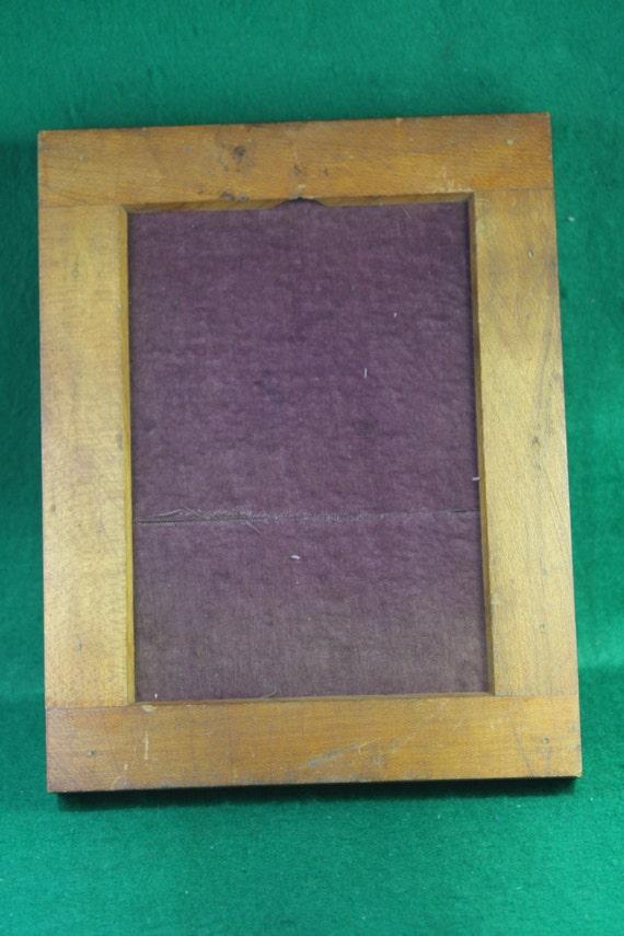 Vintage Century 5 X 7 Contact Print Frame with Original Purple