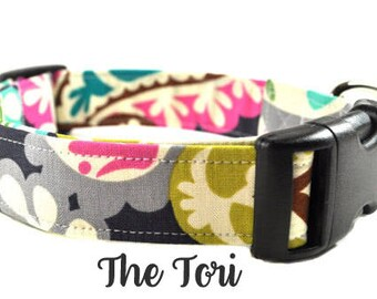 Floral Dog Collar - The Tori
