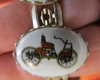 Vintage or Antique Buggy Link Bracelet