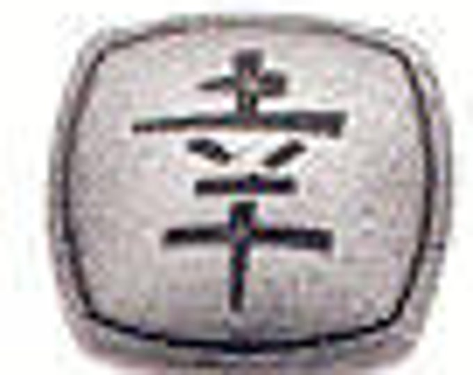 LUCKY Pewter Button by Danforth