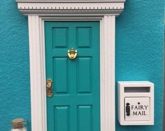 Fairy Door, Mailbox & Pixie Dust -  Glitter 'Under the Sea AQUA'