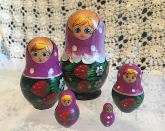 Purple Nesting Doll