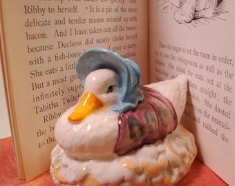 Jemima Puddleduck Figurine | Beatrix Potter Beswick England