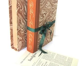 Pride and Prejudice by Jane Austen Heritage Press RARE Illustrated by Helen Sewell, Marbled Box Edition, Jane Austen Wedding, Austen Decor