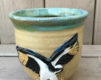 Osprey Vase Green