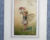 Daisy Flower Fairy Vintag...