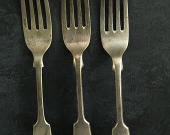 Vintage forks, food styling, food photography, props