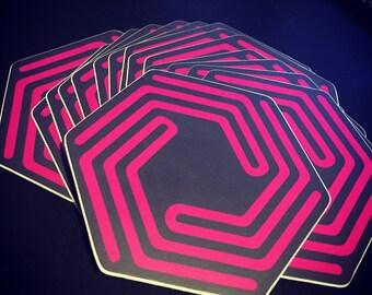 """3"""" LevelUpYourFandom Vinyl Die-Cut Logo Sticker"""