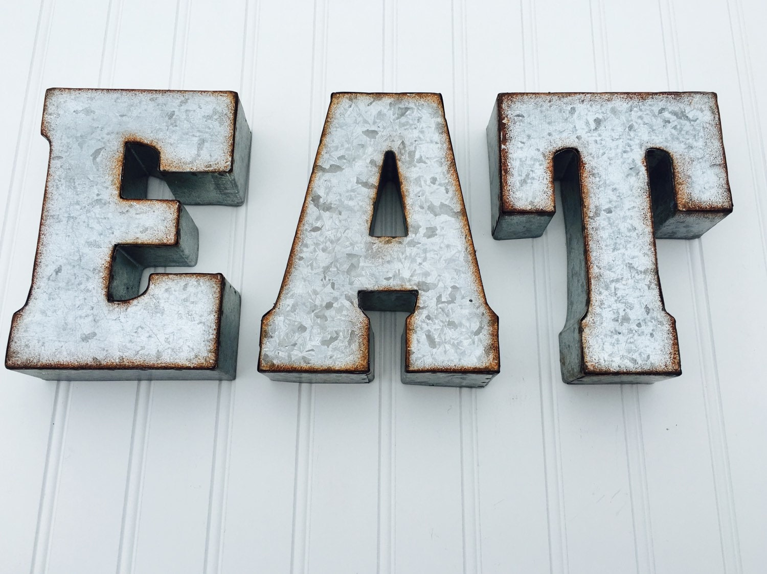 Metal Home Letters Eat Or Yum Metal Letters Eat Sign Kitchen Decor Metal