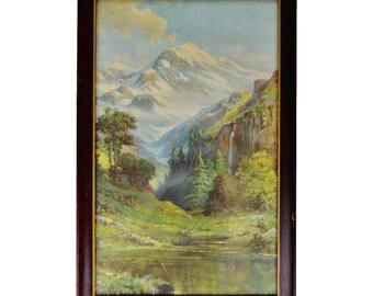 Vintage R. Atkinson Fox Framed Print