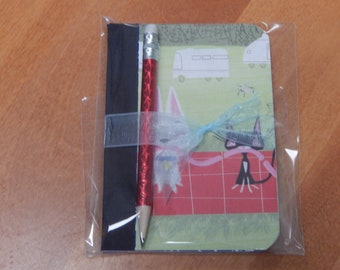 Up cycled MINI Composition Book Disney Bolt