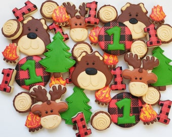 Flannel/Woodland Cookies