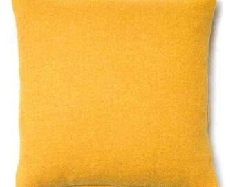 Harris Tweed ~ Harris Tweed Cushion ~ Harris Tweed Pillow ~ Yellow Harris Tweed ~ Yellow Cushion ~ Yellow Pillow