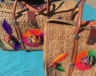 Mexican straw bags