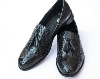 The Black Tassel loafers