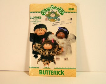 Cabbage Patch Doll Clothing Pattern