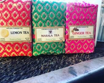 Triple loose tea gift set