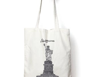 Architecture Totebag, Statue of Liberty, New York (NYC), USA