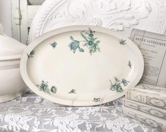 Royal Tettau porcelain platter