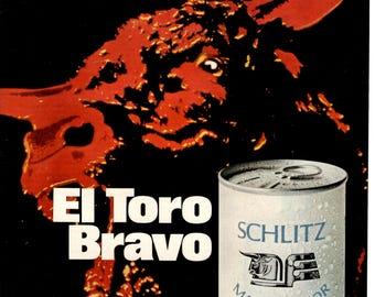 1970 Schlitz Malt Liquor magazine ad wall decor man cave (1705)