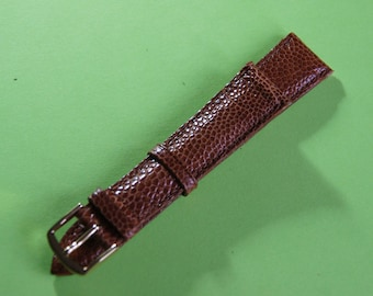 PULSAR 18 mm genuine leather watch bracelet
