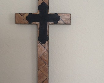 Wood Grain Cross