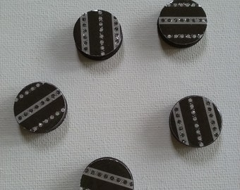 Dotty Stripes Magnet Set