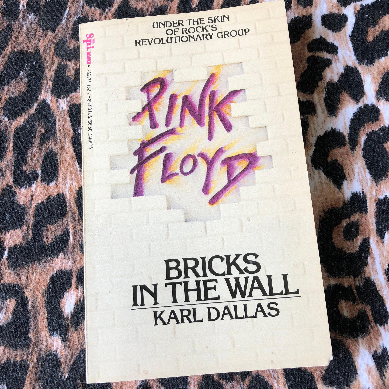 Vintage Pink Floyd Bricks In The Wall Book Roger Waters Progrock