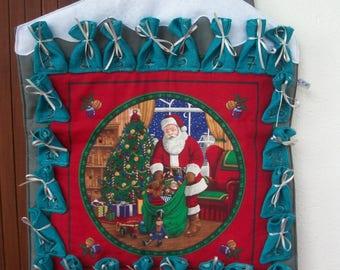 advent calendar House with an elegant look fabric