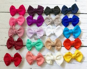 PICK 4-12 Hair Clips, Hair Clip Set, Toddler Hair Clip, Baby Hair Clip, Baby Girl Hair Clip, Bow Hair Clip, Girl Hair Clip, Infant Hair Clip