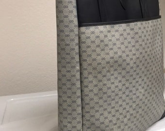 Gucci blue tote vintage bag