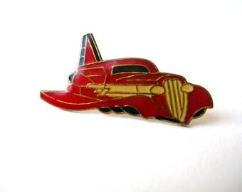Rare Vintage Zz Top Afterburner Car Pin - Hat Pin - Lapel Pin - Vintage Rock Band - Rock Pin - Band Collectible - Zz Top Pin