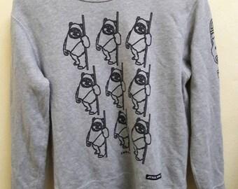 STAR WARS sweatshirt EWOKS edition the return of the jedi