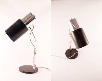 Industrial desk lamp, reading lamp, black desk lamp, desk light, office desk lamp, vintage desk lamp, mid century modern desk lamp