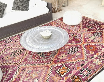 Berber carpet of the Moroccan Middle Atlas.