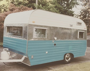 1965 Jet travel trailer canned ham glamper local pick-up only