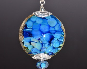 Handmade Glass Focal Bead
