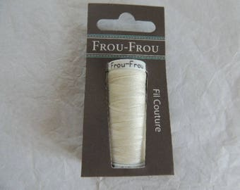 All textiles rustle ivory thread